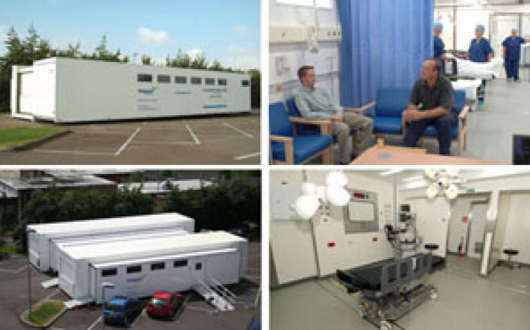 Mobile surgical facility