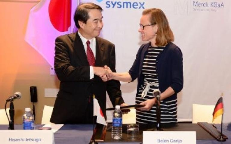 Merck to collaborate with Sysmex Inostics on biomarker test
