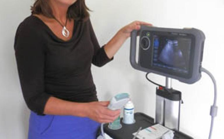 SonoSite's NanoMaxx® helps enhance palliative care