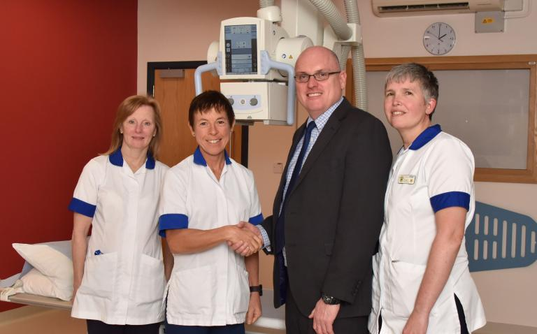 Haywood Hospital first in UK to install latest X-ray technology for enhanced patient comfort
