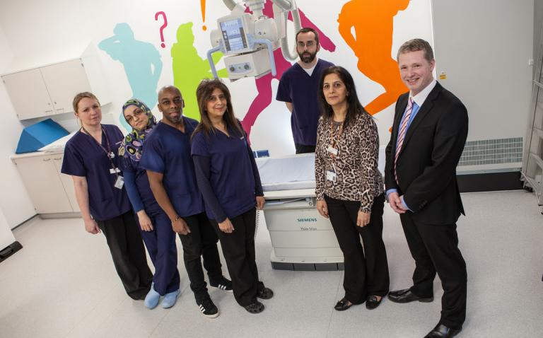 Throughput at Northwick Park's A&E department boosted by three digital radiography systems