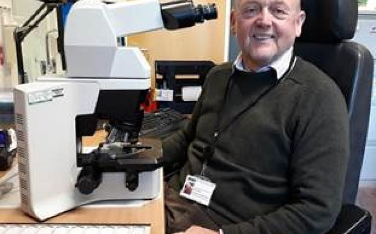 Consultant honoured for dedication to improving the practice of cytology