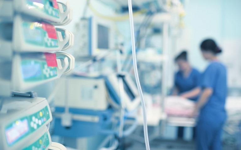 Hospital ward equipement