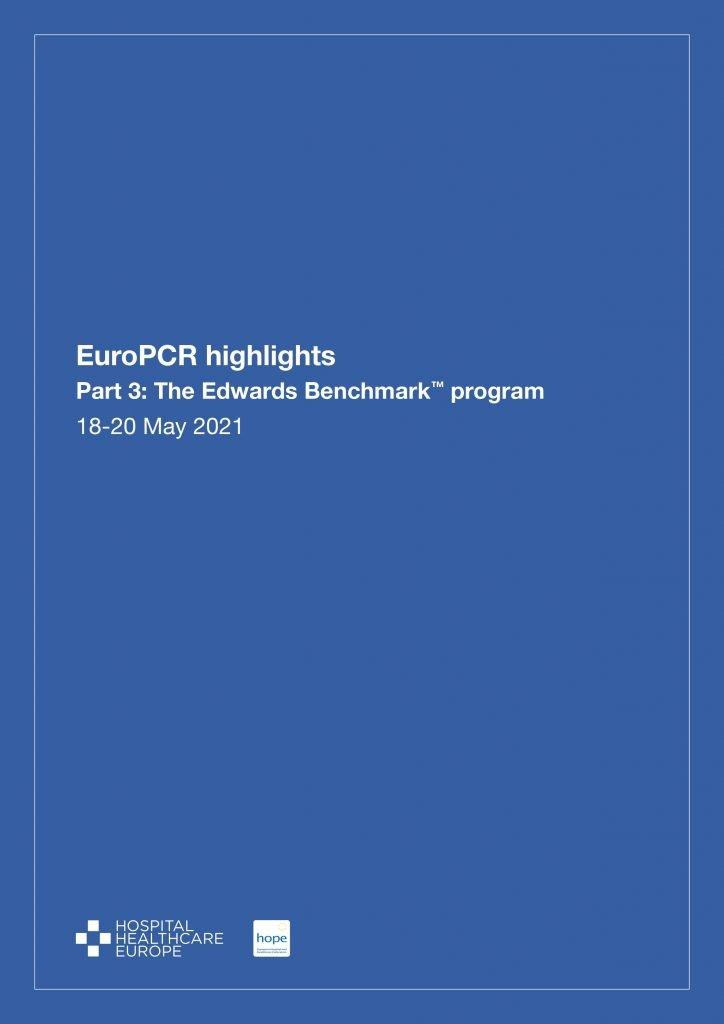 EuroPCR highlights (18-20 May) Part 3: The Edwards Benchmark™ program